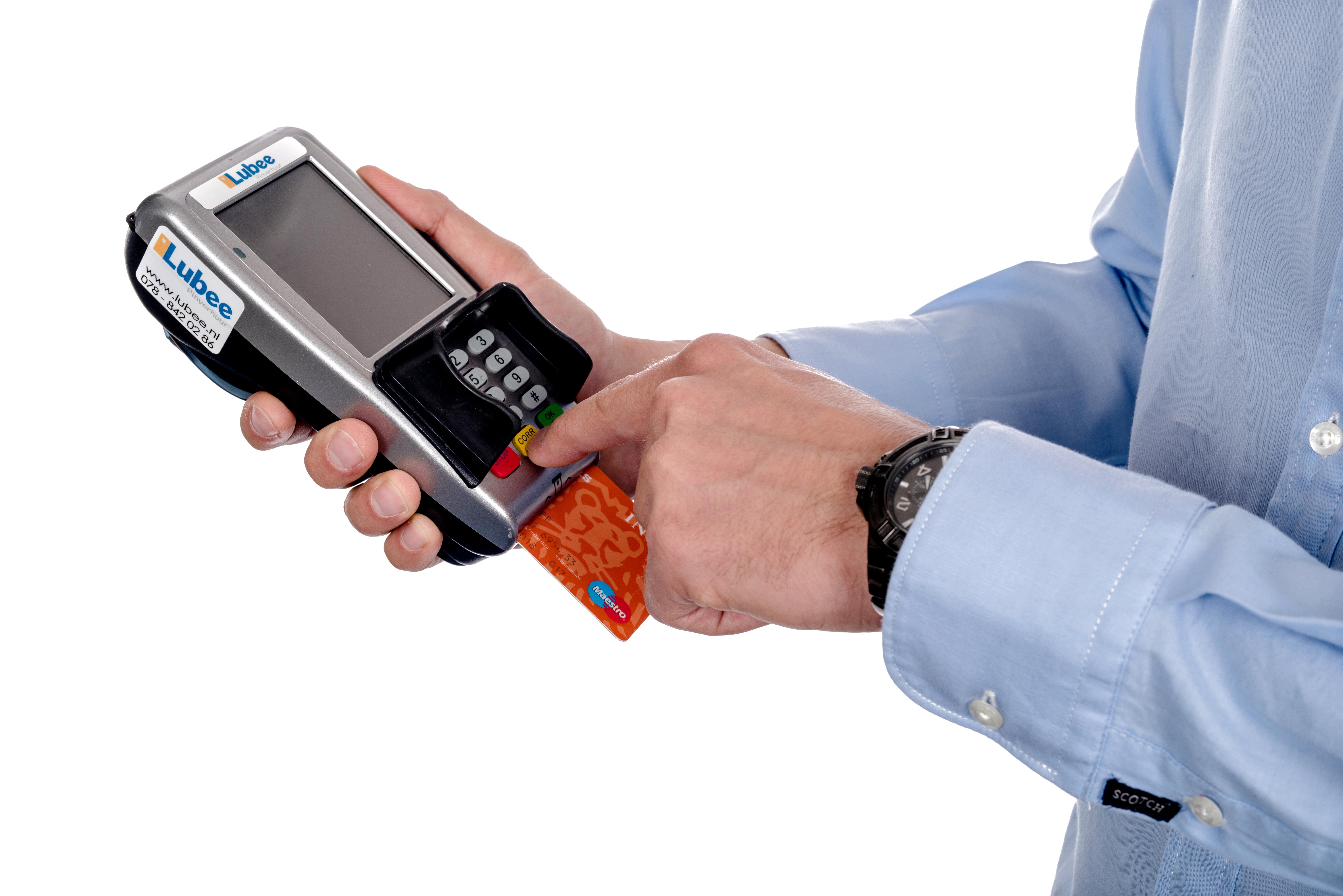 Pinautomaat contactloos betalen